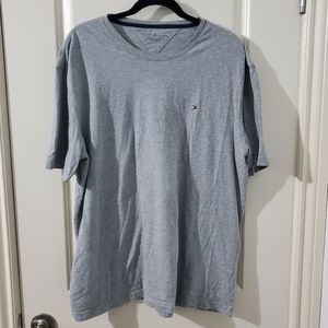 Grey Tommy Oversized T-Shirt